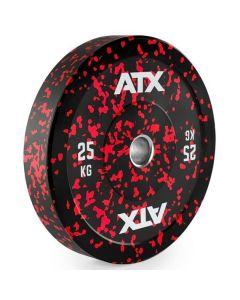 ATX® Color Splash Bumper Plates - viktskiva 25 kg