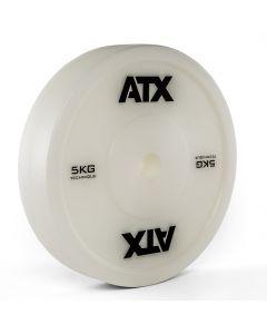 ATX® Teknik Viktskivor för Tyngdlyftning 5,0 kg