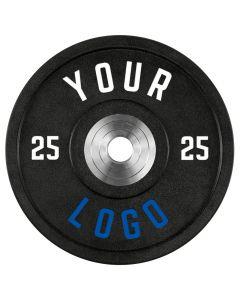 ATX® - XTREME Urethan Bumper Plates / Viktskivor - Custom Logo - 25 kg