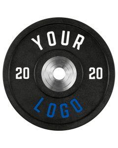 ATX® - XTREME Urethan Bumper Plates / Viktskivor - Custom Logo - 20 kg