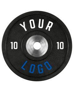 ATX® - XTREME Urethan Bumper Plates / Viktskivor - Custom Logo - 10 kg