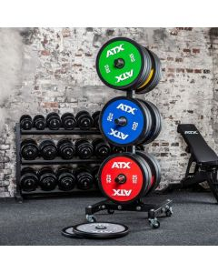 ATX® Color Full Design Bumper Plates 5 till 25 kg