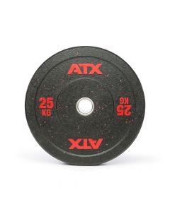 ATX® Colour Fleck Bumper Viktskiva 25 kg