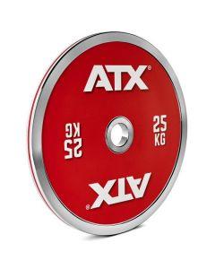 ATX® Kalibrerad stålviktskiva CC - 25 kg