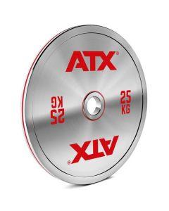 ATX® Kalibrerade Viktskivor av stål - CS - 5 till 25 kg