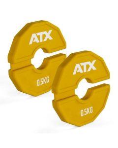 ATX® Add-On Flex Plate / flexibla ytterligare vikter - 0,5kg