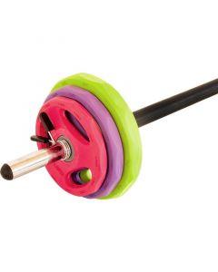 20 KG Pump Set Aerobic Pro i Gummi