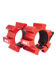 ATX Aluminium lås - Röd