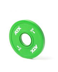 ATX® Frictional Grip Plates Gummi viktskiva 1 kg