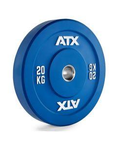 ATX® Color Full Rubber Bumper Plate - Viktskiva 20 kg
