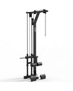 ATX® latsdrag LTO-650 med fria vikter - Plate Load