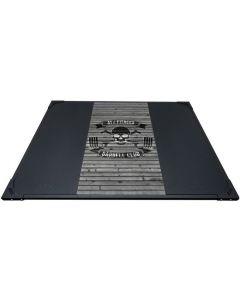 ATX® Tyngdlyfts plattform skalle trä färggrann 248 x 180 x 5 cm