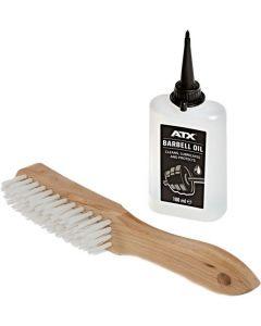 ATX® Rengörings- och smörjningsmedel + nylonborste