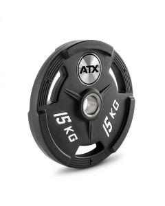 ATX® 3-Grip Polyuretan viktskiva 15 kg