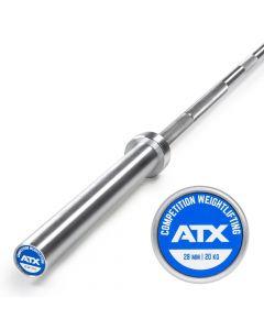 ATX® Competition Weightlifting Bar 20 kg TYNGDLYFTNING SKIVSTÅNG