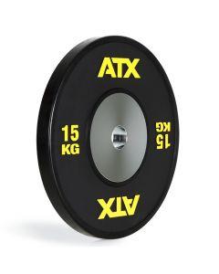 ATX® HQ-Rubber Bumper Plates - Svart 15 kg