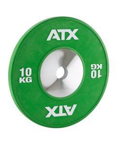 ATX® HQ-Rubber Bumper Plates -Grön 10 kg
