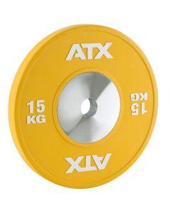 ATX® HQ-Rubber Bumper Plates - Gul 15 kg