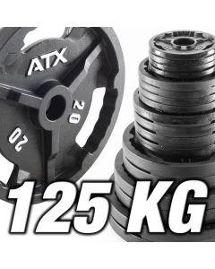 ATX® Viktpaket i Järn 125 kg