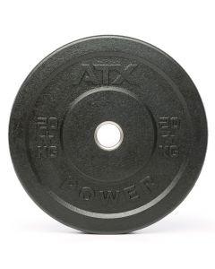 ATX® Rough Rubber Bumper Plate 20 kg