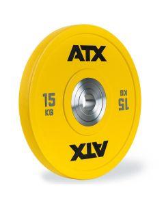 ATX® Urethan Bumper Plate - 15 kg - Gul