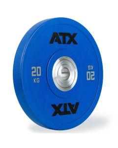 ATX® Urethan Bumper Plate - 20 kg - Blå
