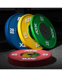 ATX® HQ-Rubber Bumper Plate - 50 mm