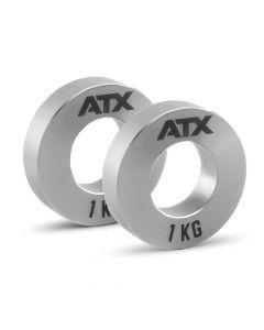 ATX® Mini Fractional Steel Plates 2 x 1.0 kg