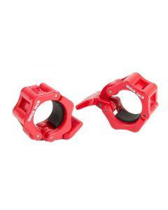 Quick Lock Collar - Trycklås 30 mm - Röd