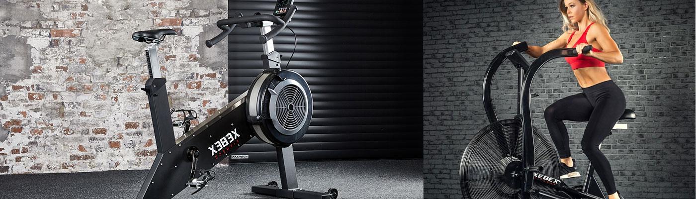 Konditionscykel, spinningcykel och ergometercykel